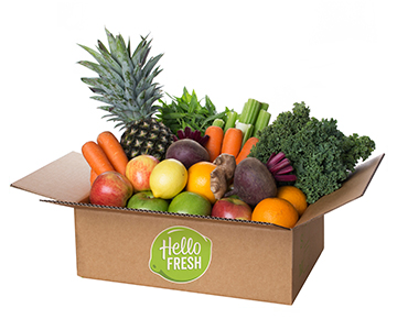 weekly food delivery hellofresh. Black Bedroom Furniture Sets. Home Design Ideas