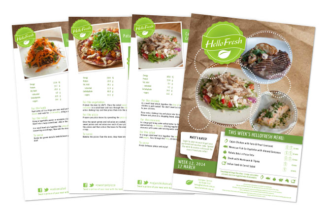 HelloFresh Recipes