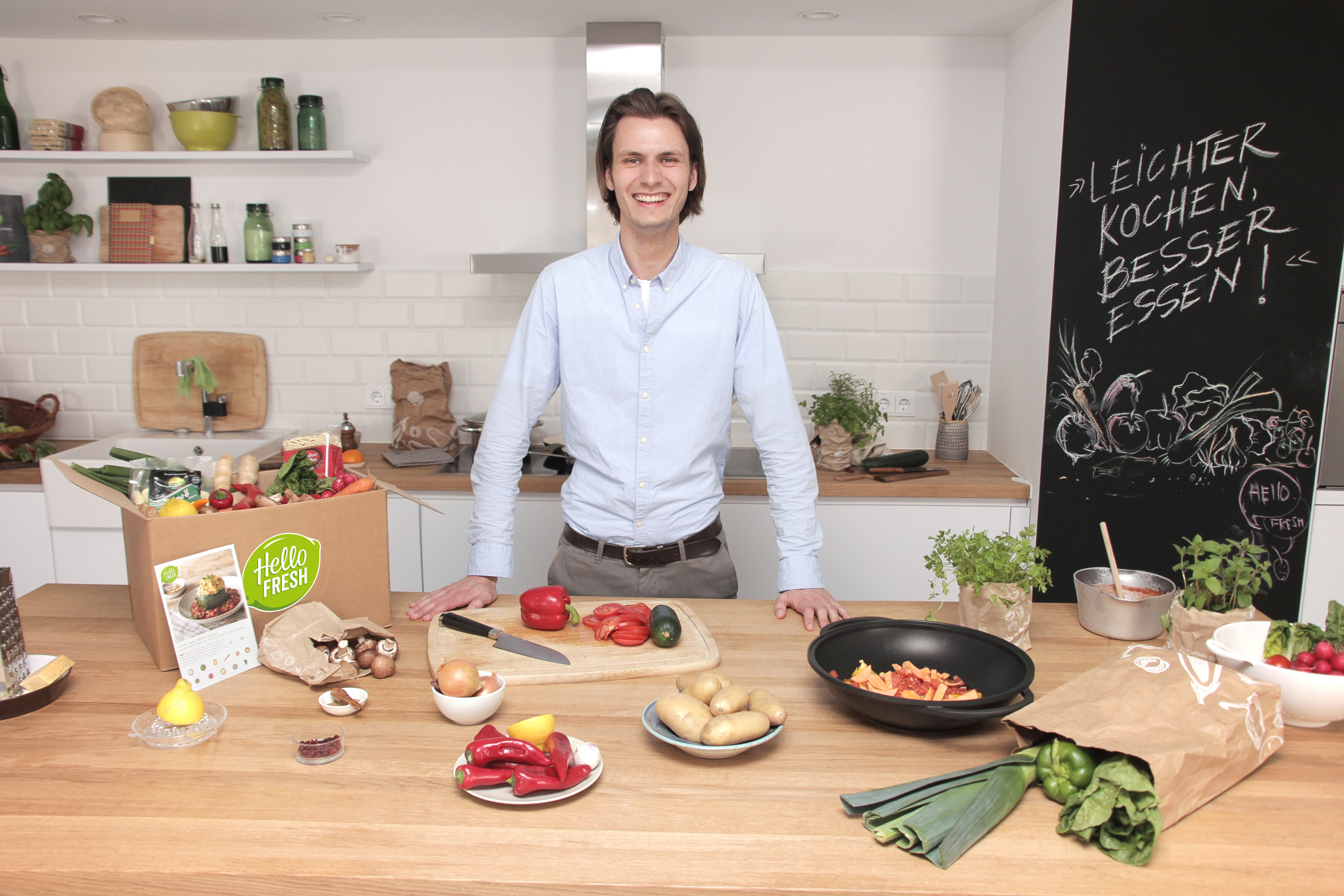HelloFresh CMO Maximilian Backhaus