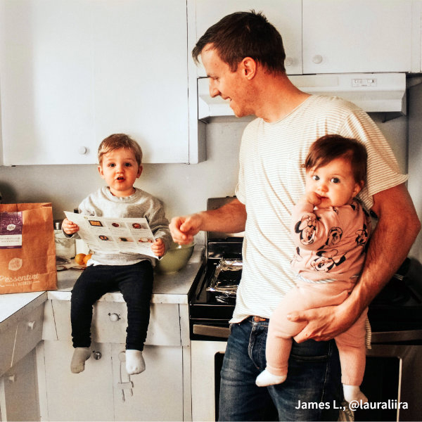 HelloFresh Dad: James L., @lauraliira
