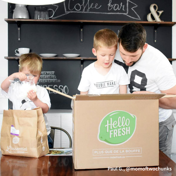 HelloFresh Dad: Paul G., @momoftwochunks