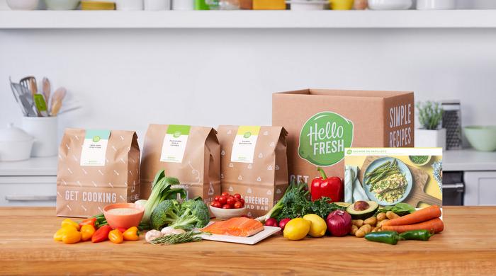 Healthy Food Delivery To Your Door Hellofresh