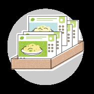 Wähle die Kochbox Deines Geschmacks
