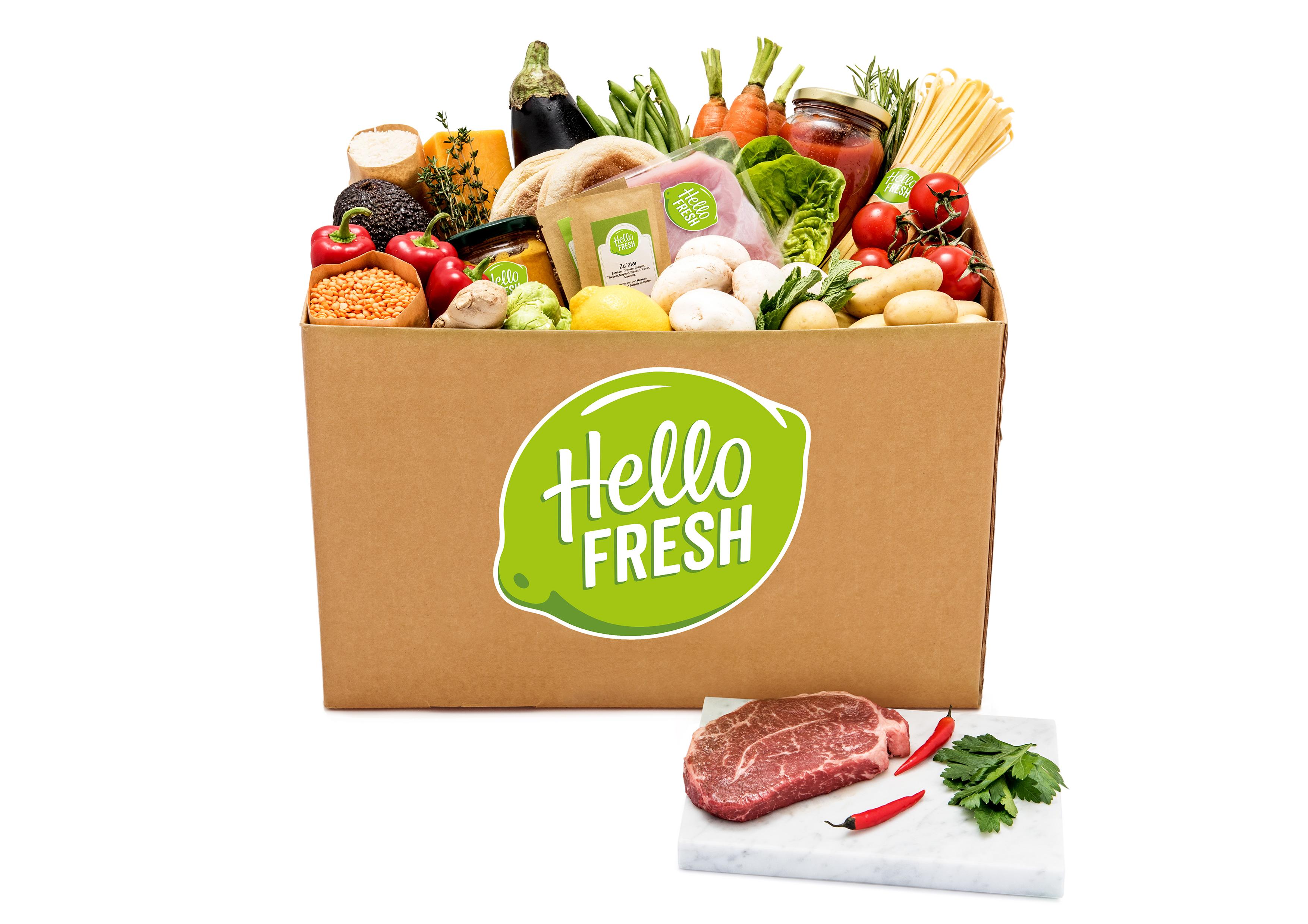 Hellofresh für Euch getestet {Quinoa Salat, Pikannte Pizza Magherita ...