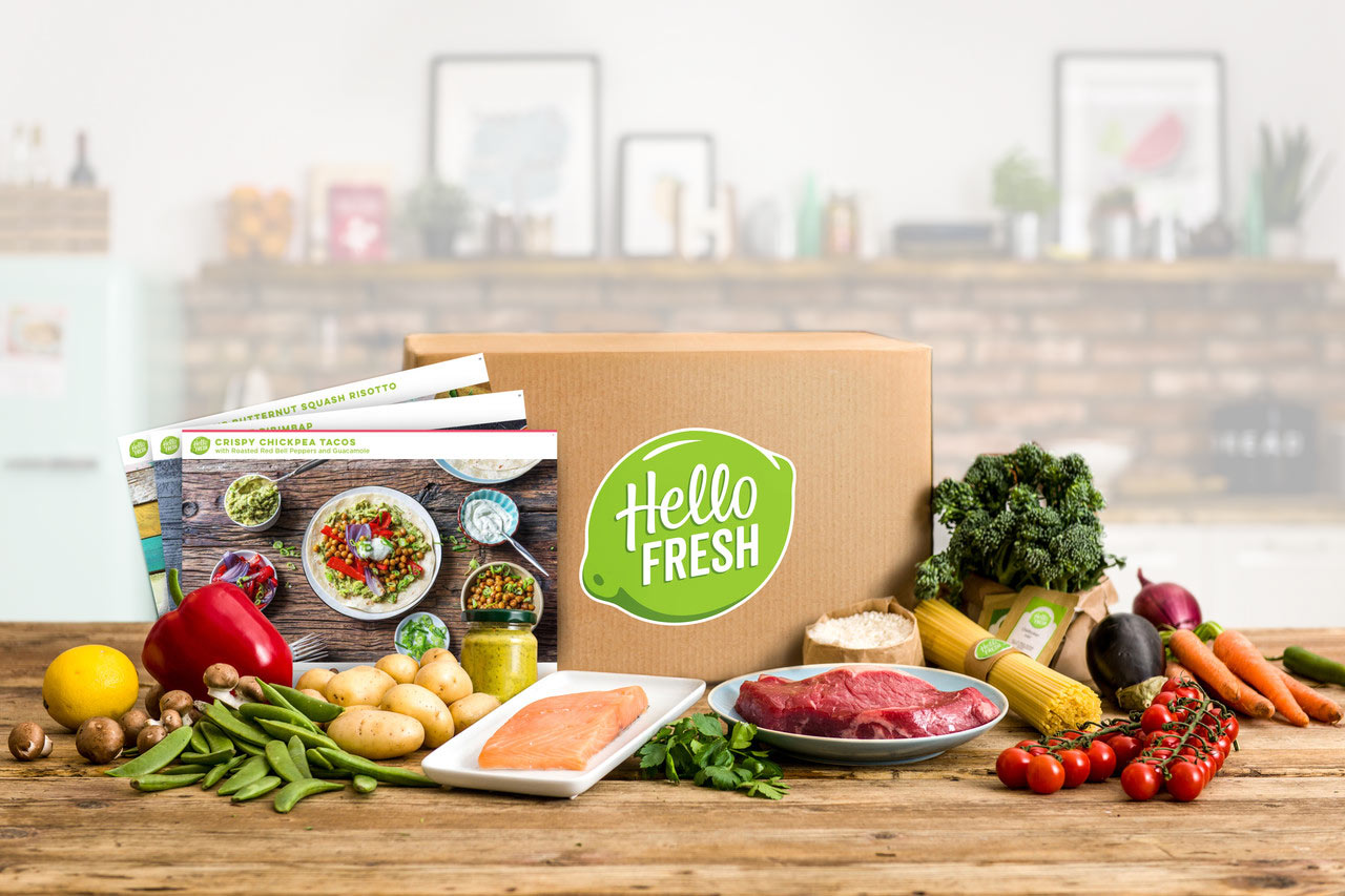 HelloFresh Food Box Delivery and Subscription Box