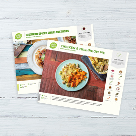 How to get weekly healthy food delivery hellofresh our recipe cards forumfinder Gallery