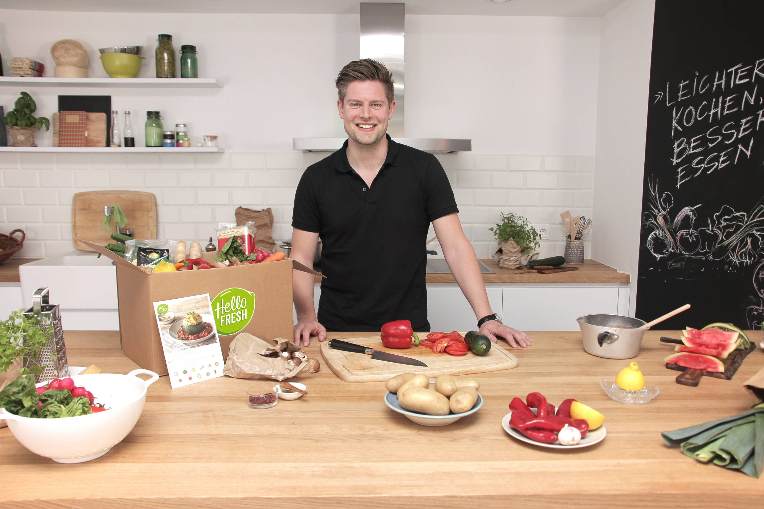 HelloFresh COO Thomas Griesel