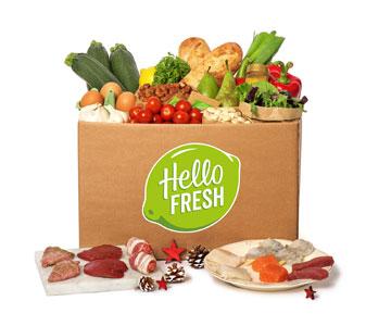 HelloFresh Kerstbox voor Gourmetten