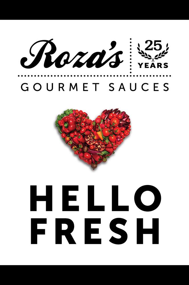 Roza's Gourmet Sauces logo