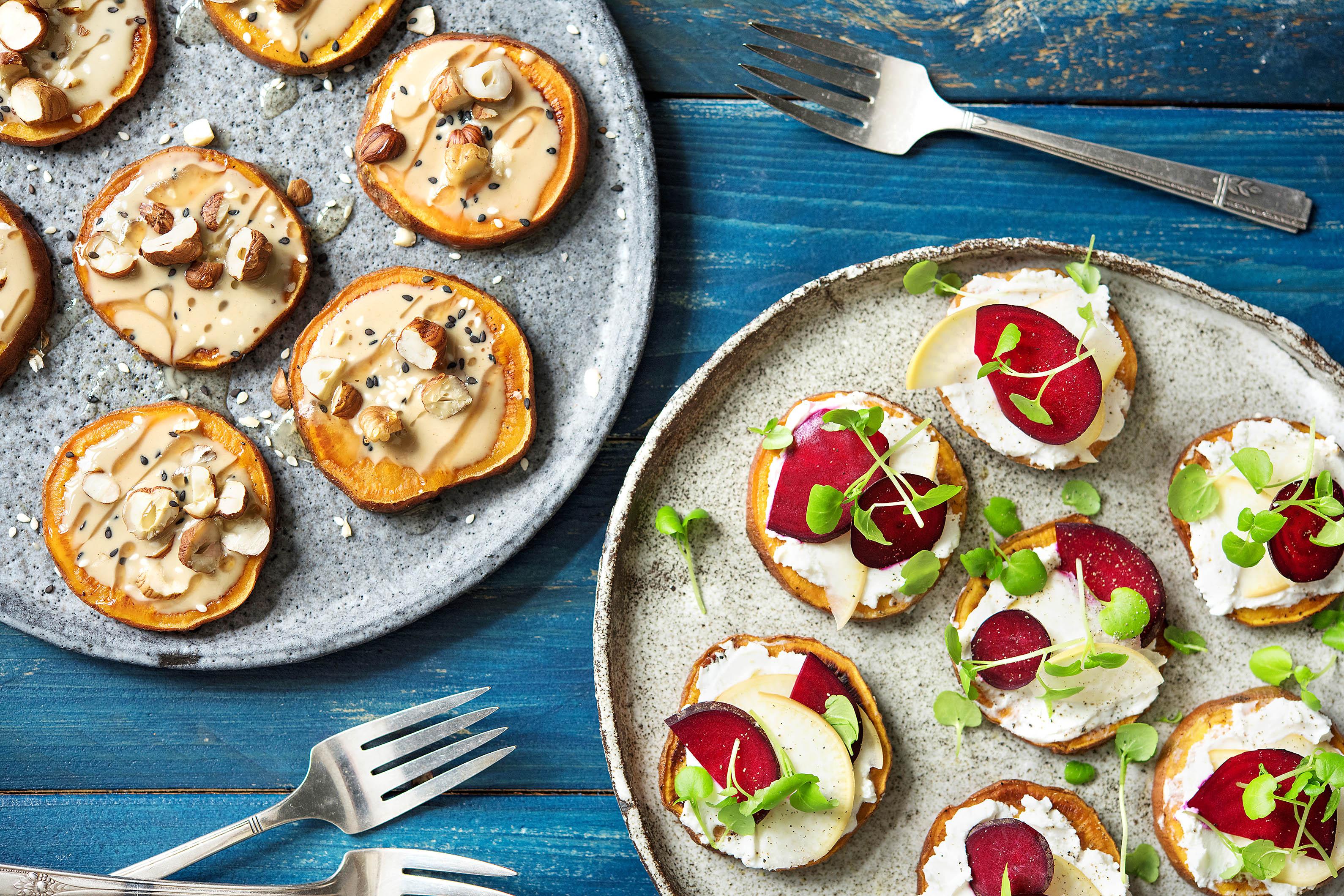 Healthy Alternatives-sweet-potato-toast-HelloFresh