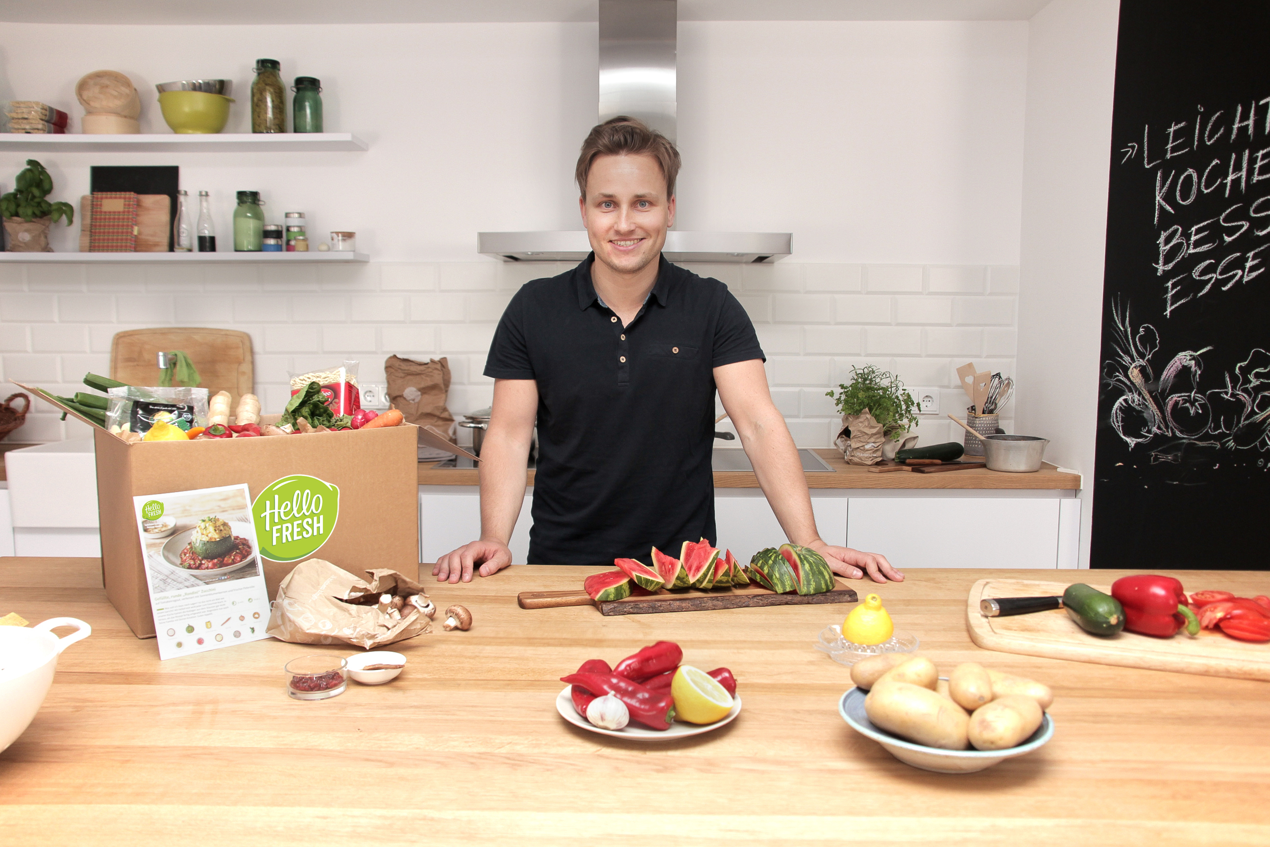HelloFresh CEO Dominik Richter