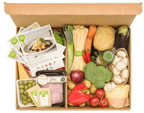Fresh Meals Delivered >> Hellofresh Get Cooking Meal Kit Delivery Order Food