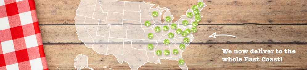 HelloFresh Delivery Areas USA
