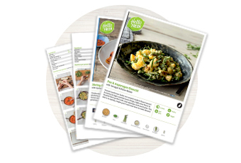 HelloFresh creates the recipes