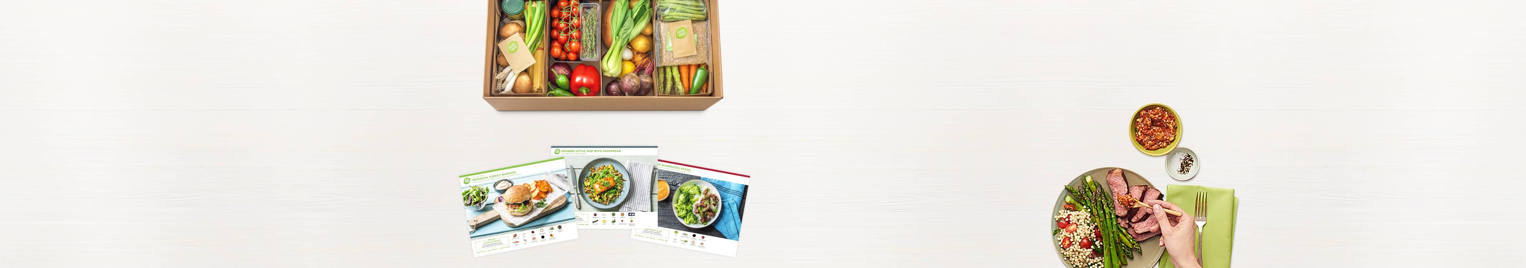 Hellofresh Get Cooking Meal Kit Delivery Order Food