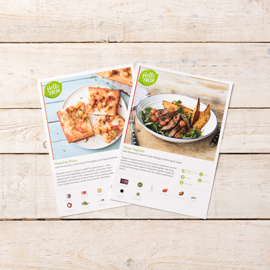Each Meal Is Accompanied By A Recipe Card Featuring Step Instructions An Ingredient List And Nutritional Information To Guide You