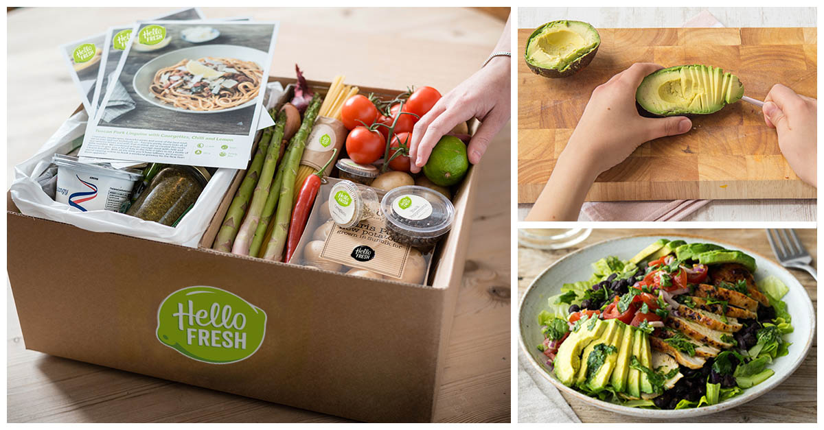Hello Fresh Subscription Box:.